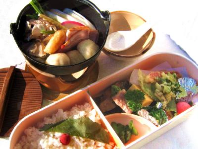 山の芋鍋御膳