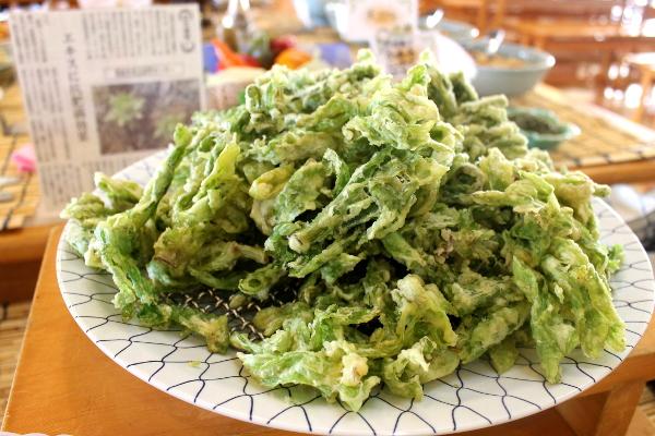 季節野菜・山菜の天ぷら